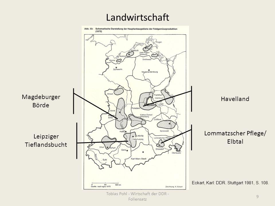Landwirtschaft Magdeburger Börde Havelland Leipziger Tieflandsbucht