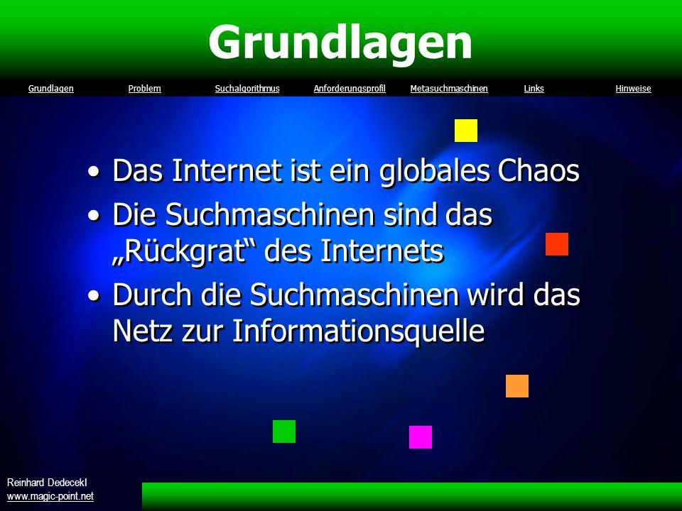 Grundlagen Das Internet ist ein globales Chaos