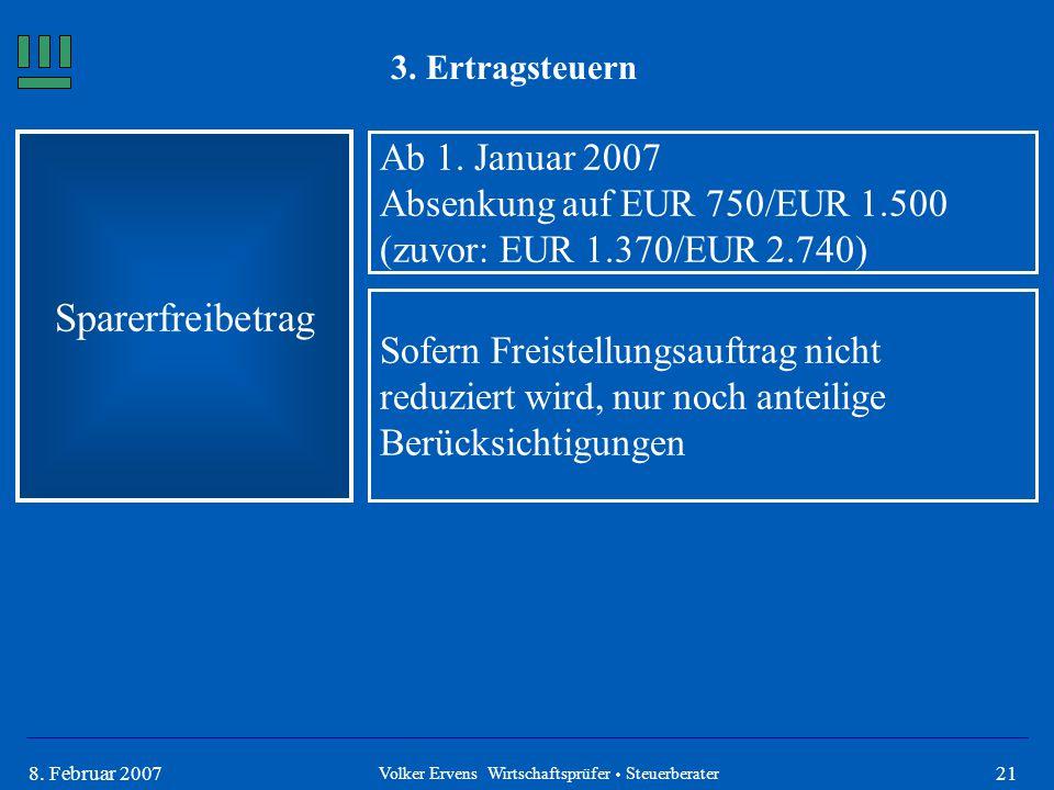 Volker Ervens Wirtschaftsprüfer  Steuerberater