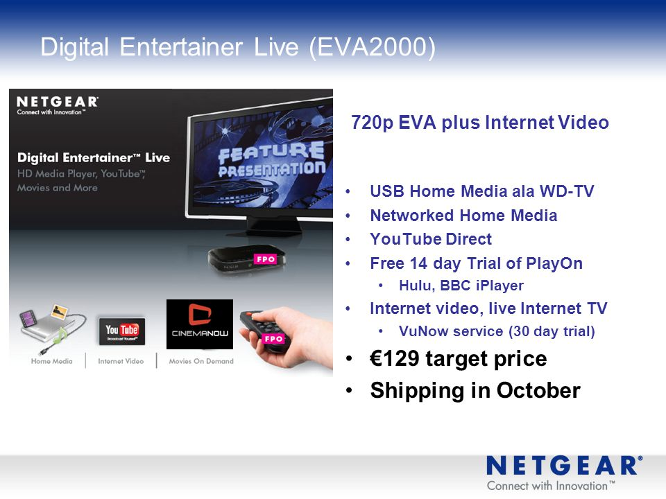Digital Entertainer Live (EVA2000)