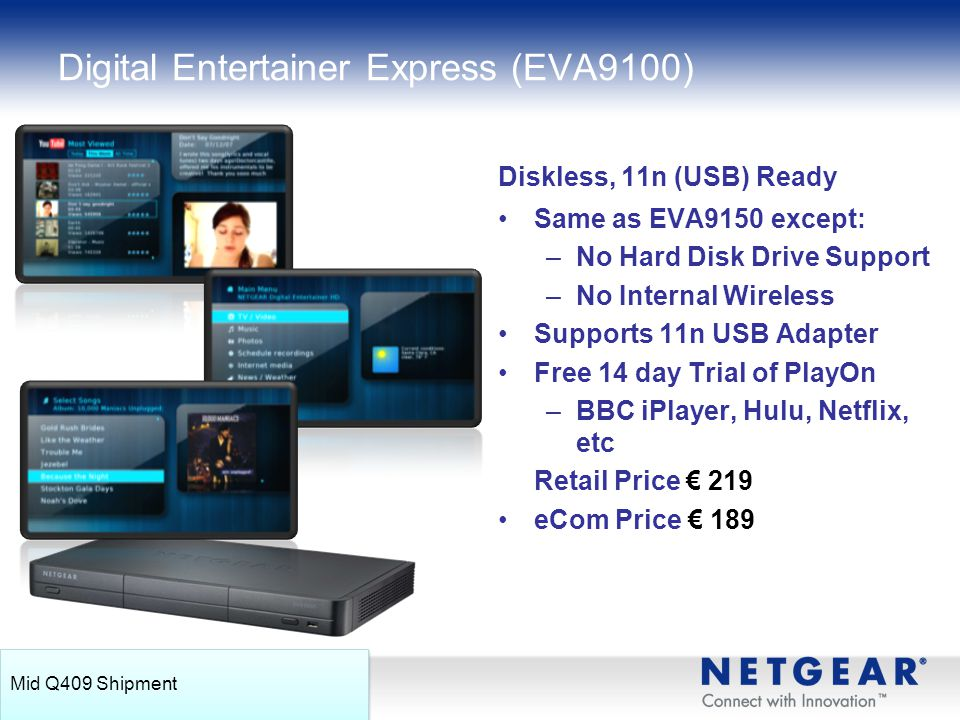 Digital Entertainer Express (EVA9100)