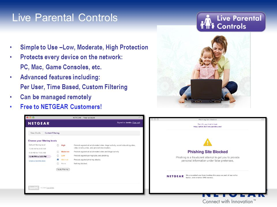 Live Parental Controls