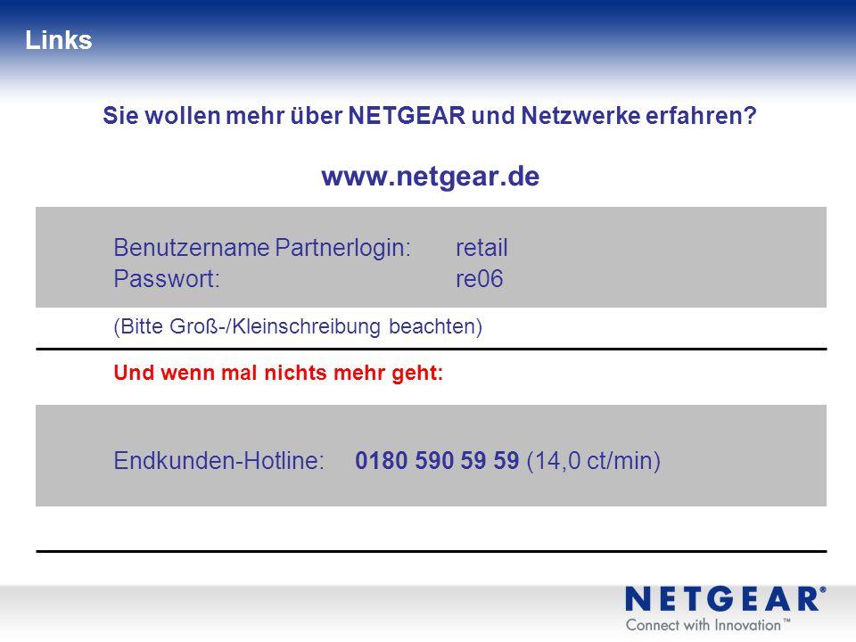 Sie wollen mehr über NETGEAR und Netzwerke erfahren