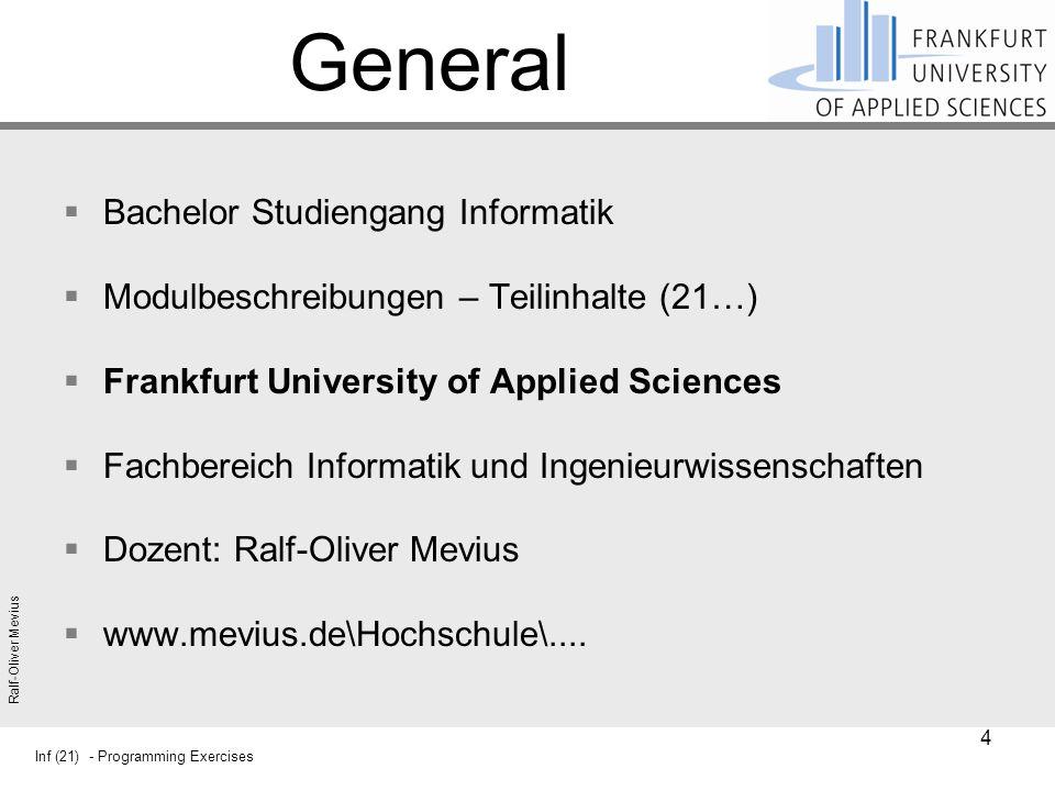 General Bachelor Studiengang Informatik