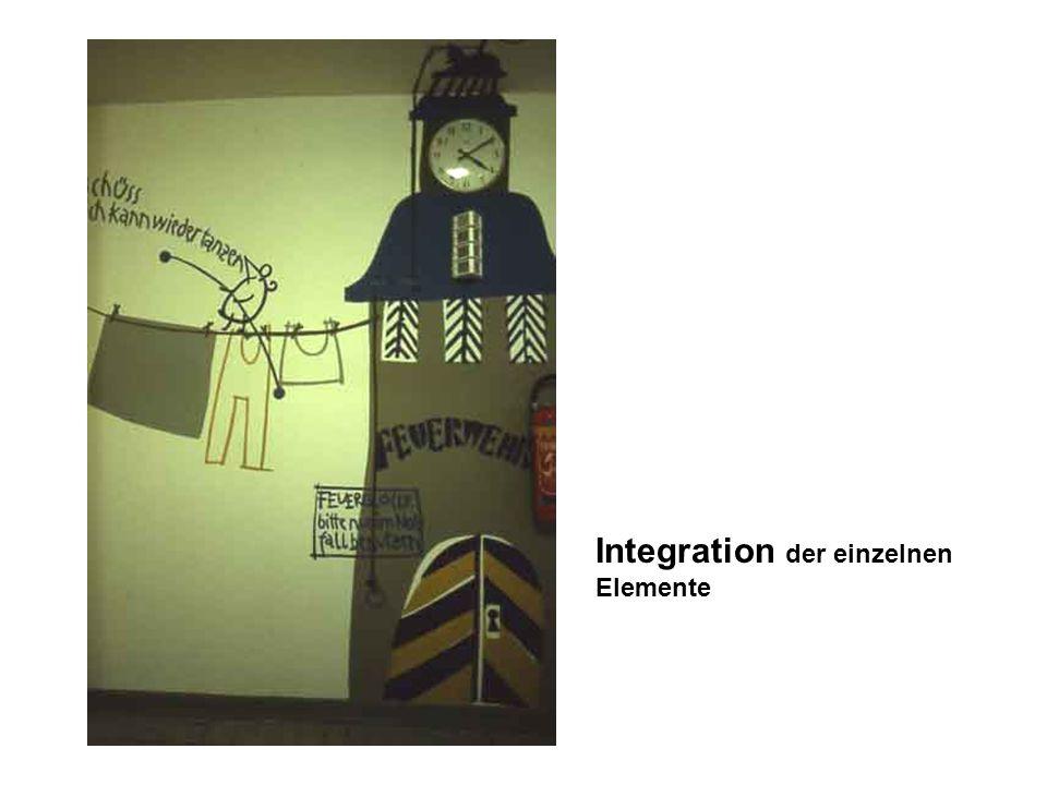 Integration der einzelnen Elemente