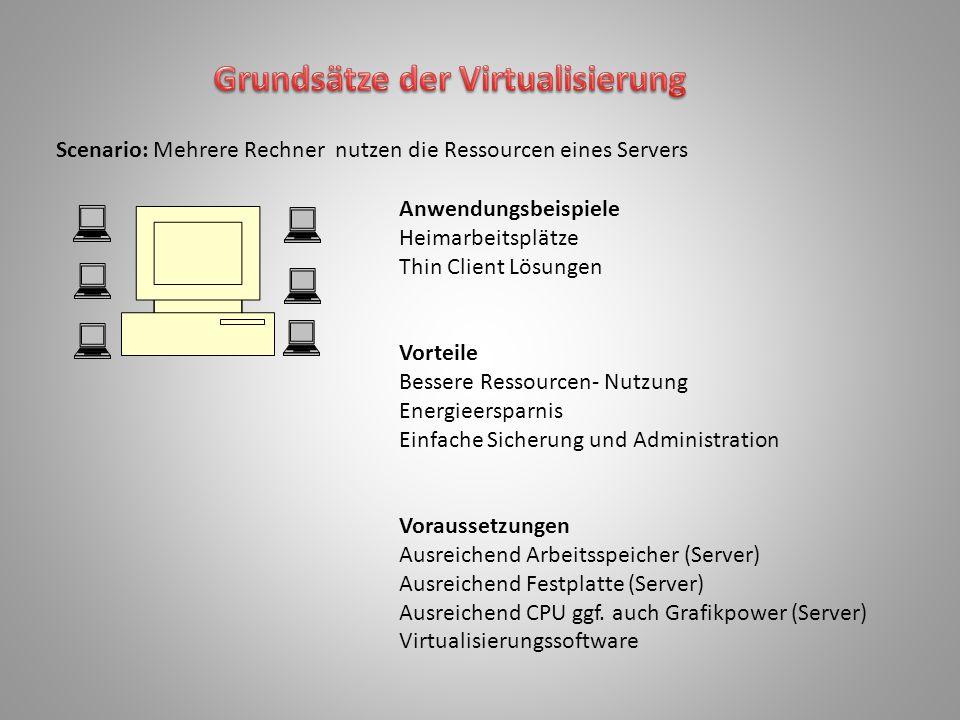 Grundsätze der Virtualisierung
