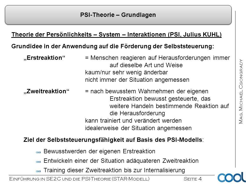 PSI-Theorie – Grundlagen