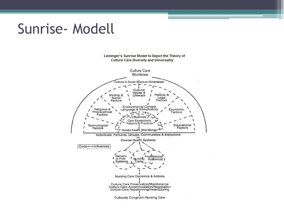 Sunrise- Modell