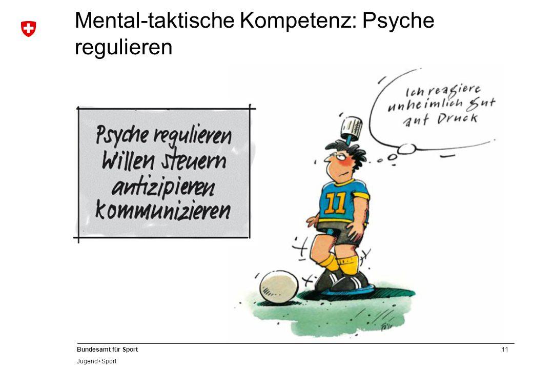 Mental-taktische Kompetenz: Psyche regulieren