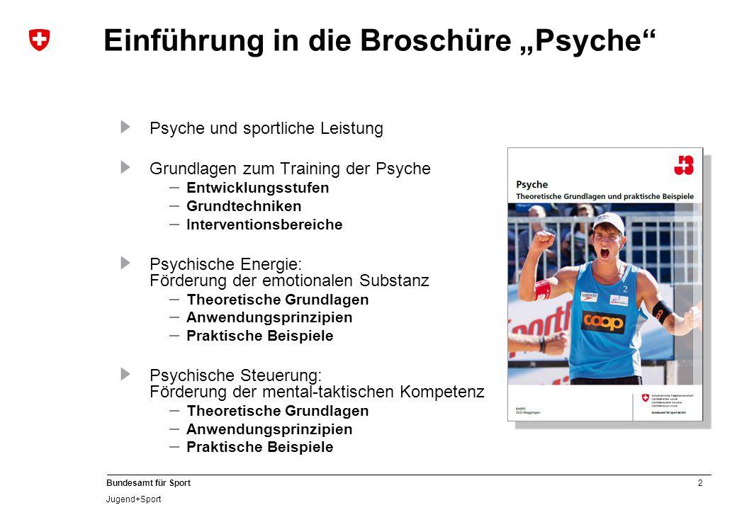 """Einführung in die Broschüre """"Psyche"""