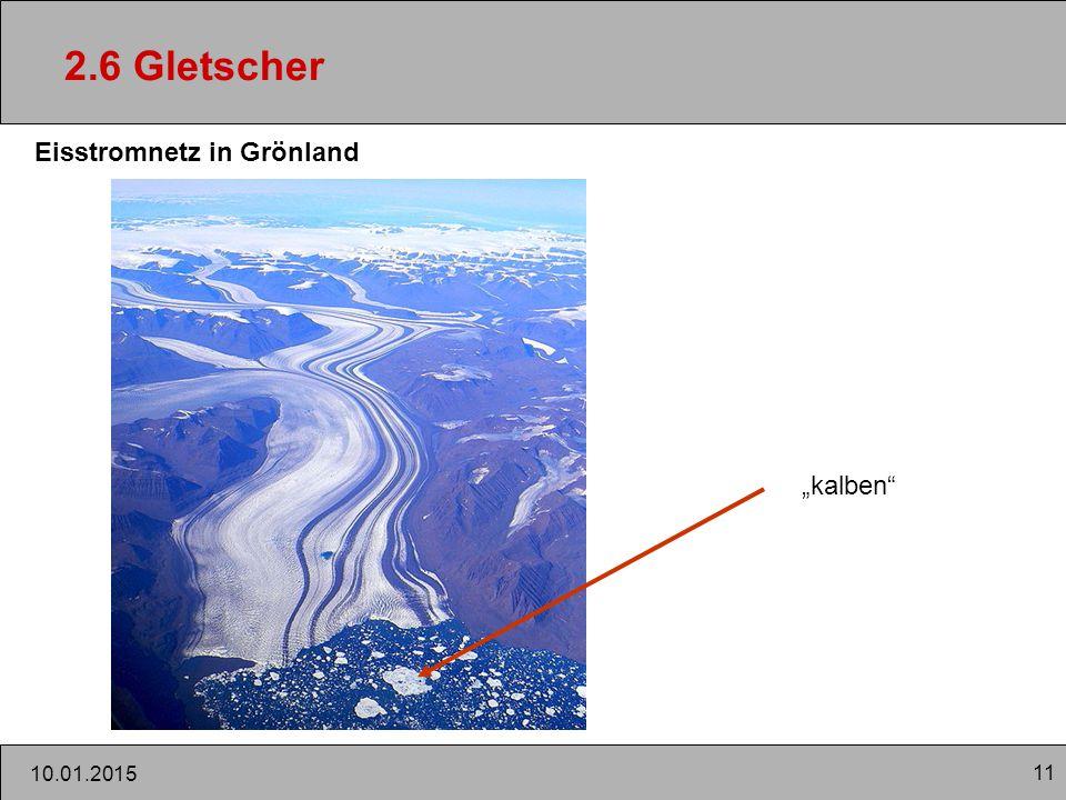 """2.6 Gletscher Eisstromnetz in Grönland """"kalben 08.04.2017"""