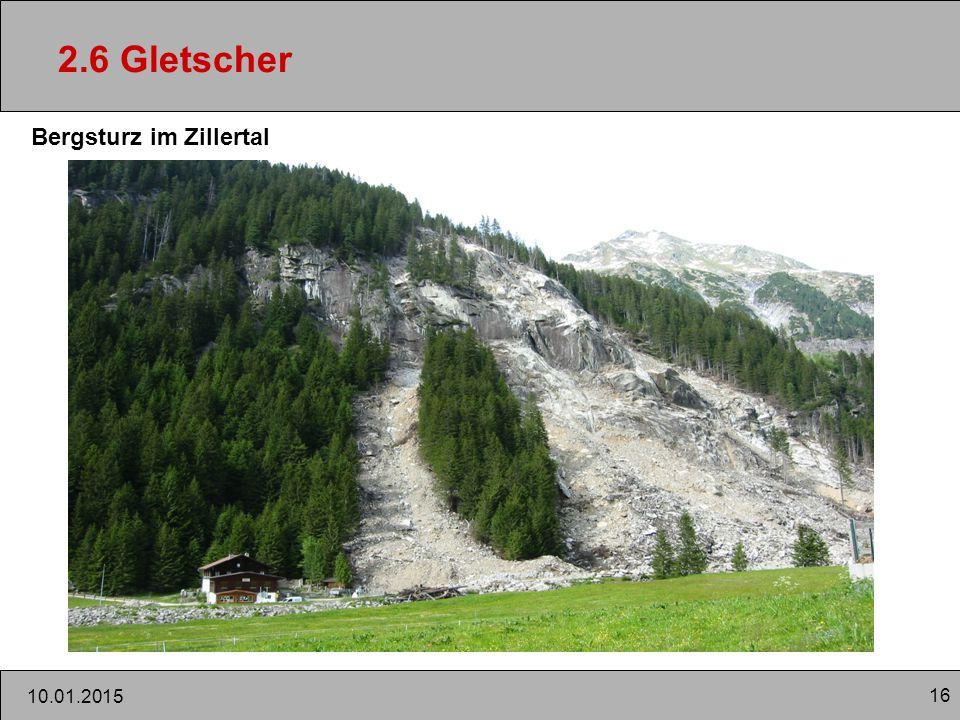 2.6 Gletscher Bergsturz im Zillertal 08.04.2017