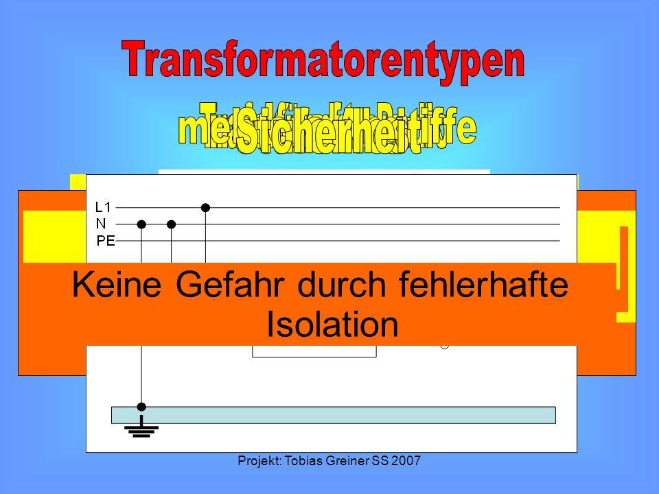 Transformatorentypen