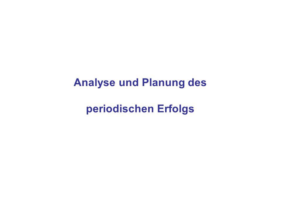 Analyse und Planung des