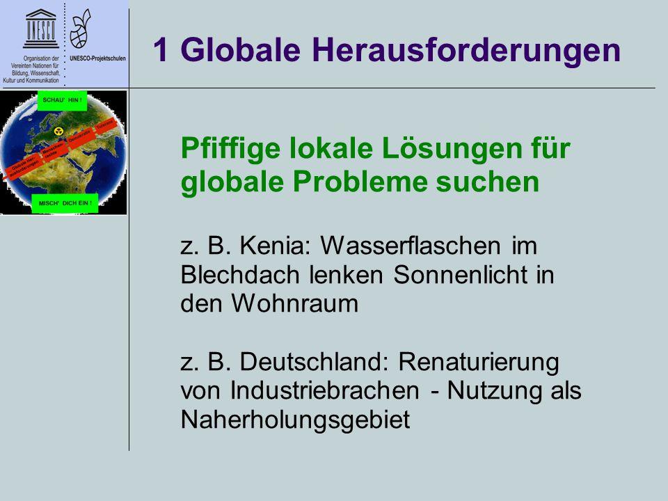 1 Globale Herausforderungen