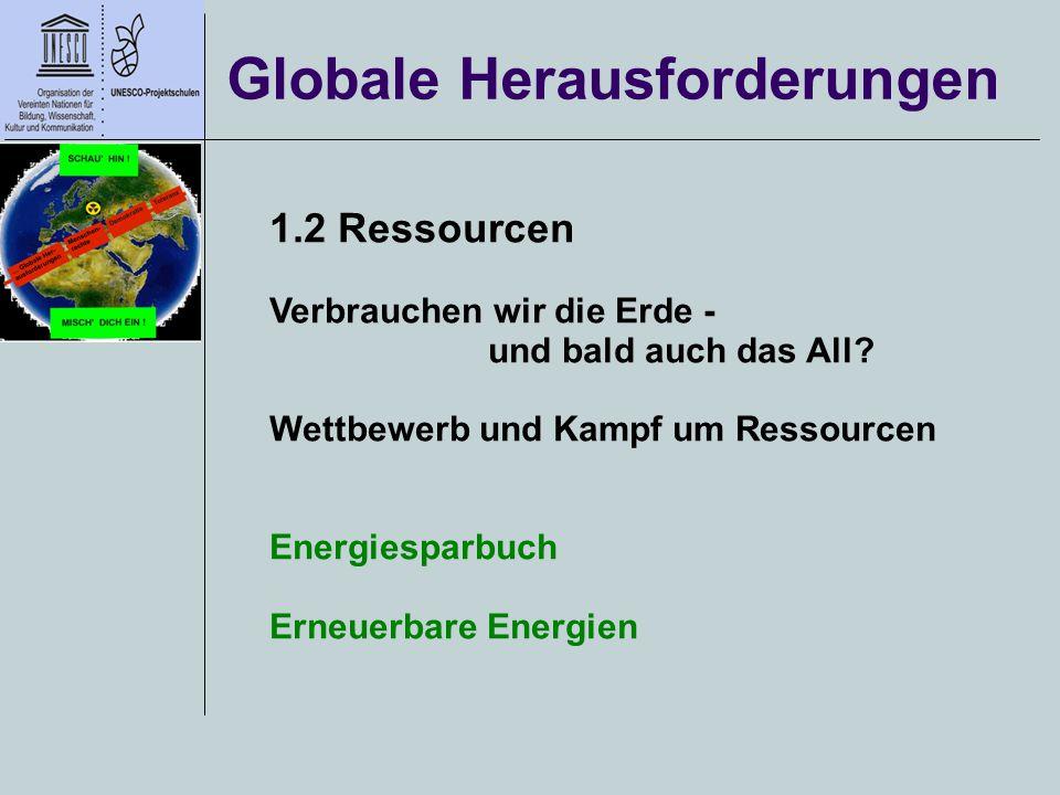 Globale Herausforderungen