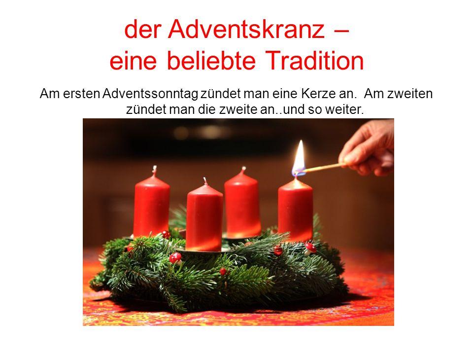 der Adventskranz – eine beliebte Tradition