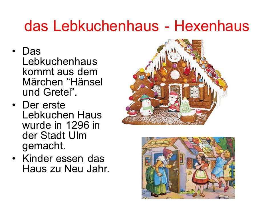 das Lebkuchenhaus - Hexenhaus