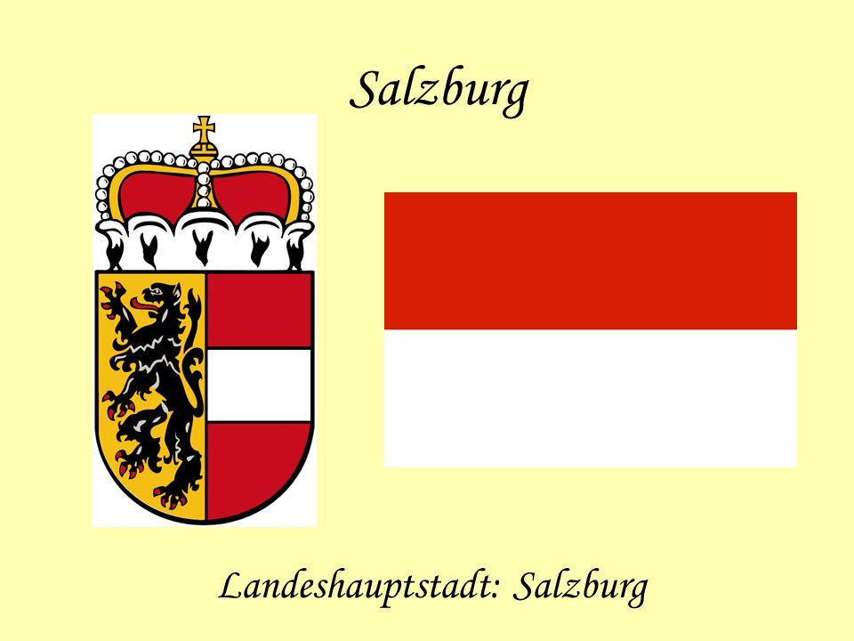 Landeshauptstadt: Salzburg