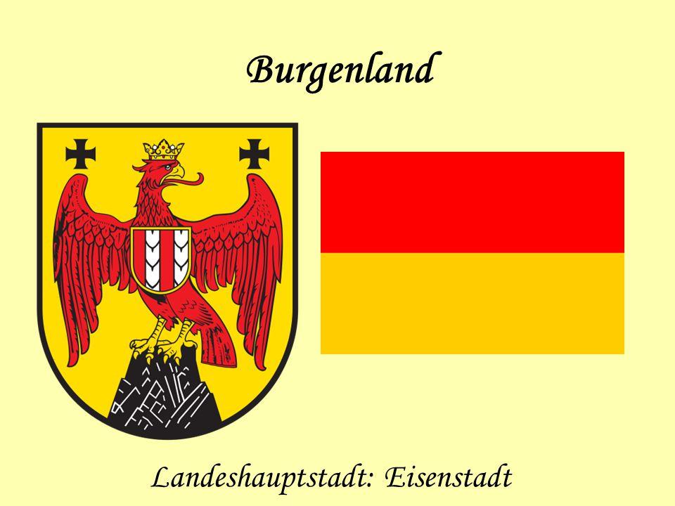 Landeshauptstadt: Eisenstadt