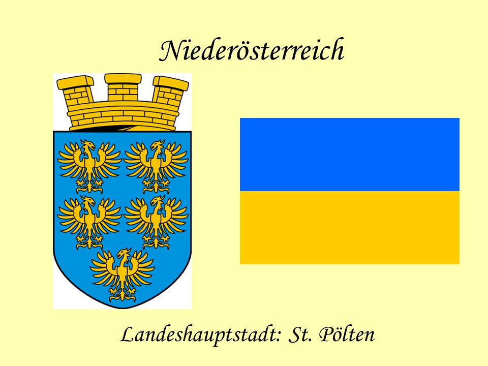 Landeshauptstadt: St. Pölten