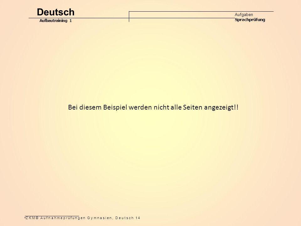 Deutsch Bei diesem Beispiel werden nicht alle Seiten angezeigt!!