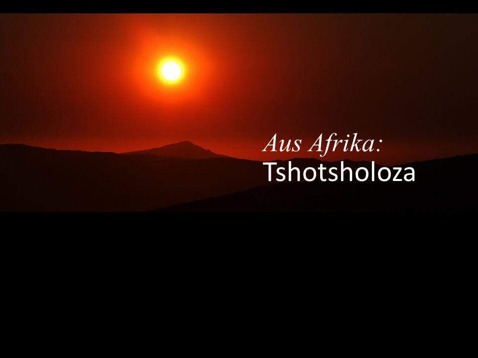 Aus Afrika: Tshotsholoza