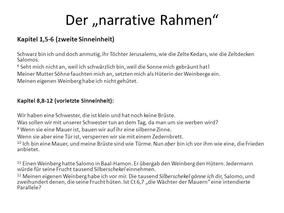 """Der """"narrative Rahmen"""