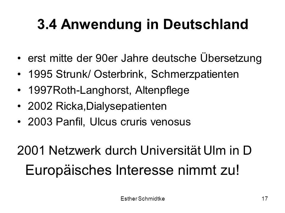 3.4 Anwendung in Deutschland