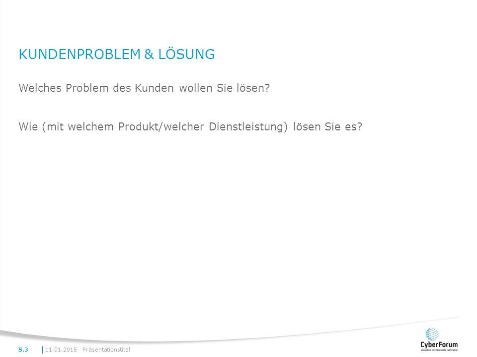 Kundenproblem & Lösung