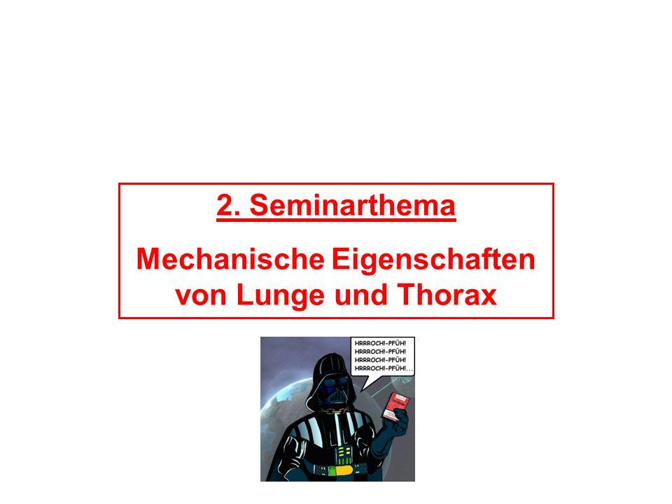 Mechanische Eigenschaften von Lunge und Thorax