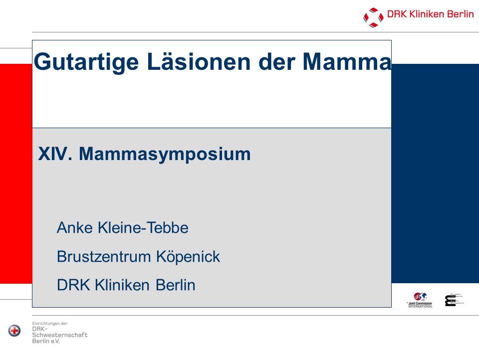 Gutartige Läsionen der Mamma XIV. Mammasymposium