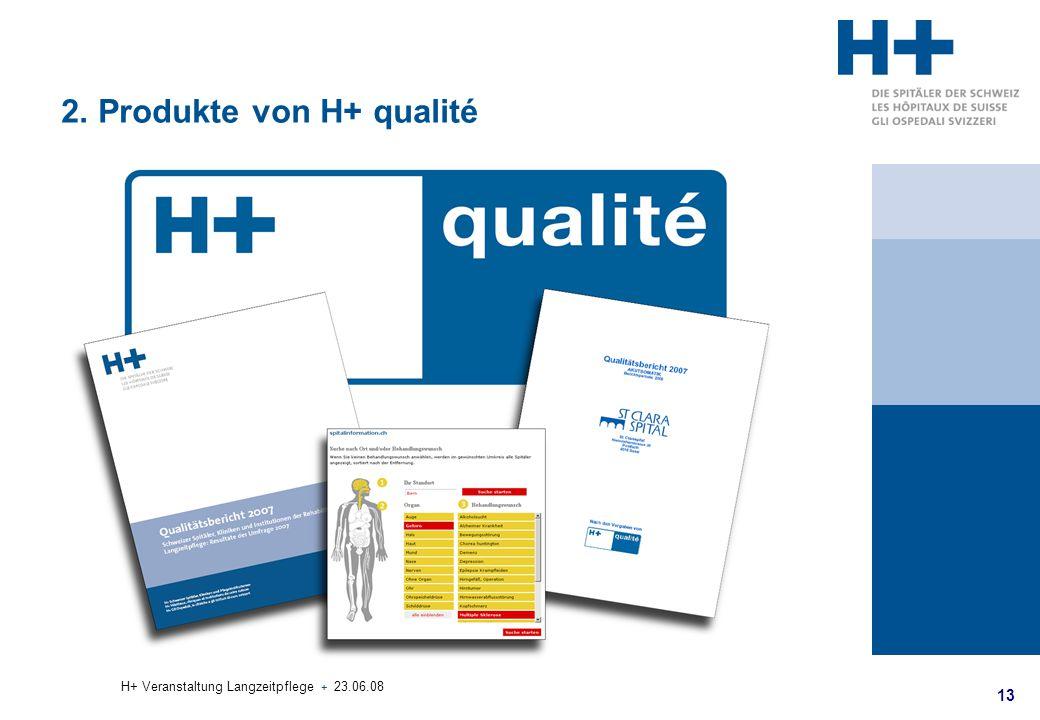 2. Produkte von H+ qualité