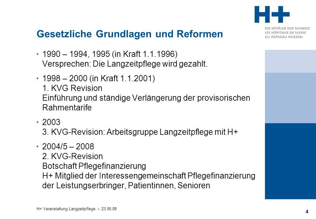Gesetzliche Grundlagen und Reformen