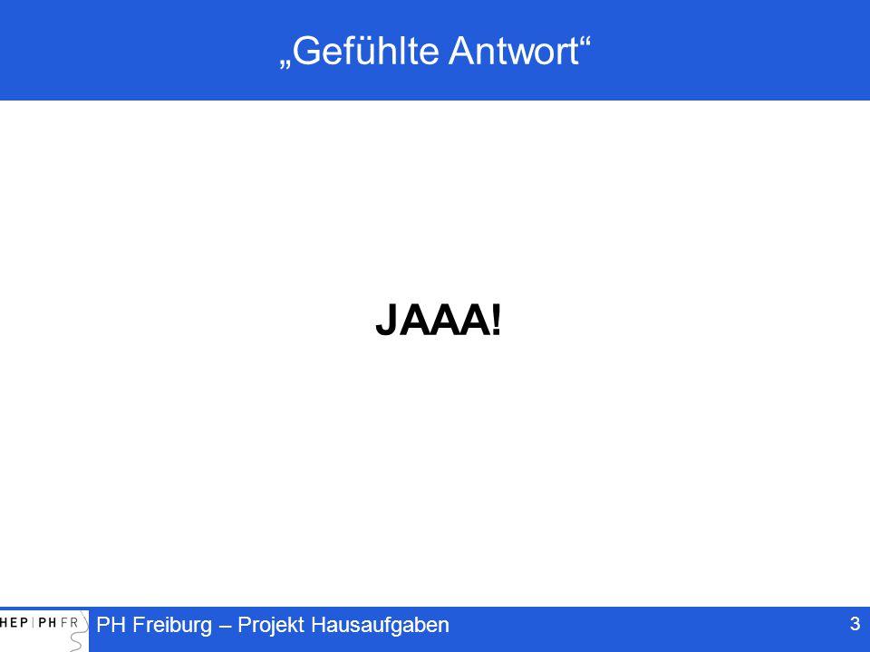 """""""Gefühlte Antwort JAAA!"""