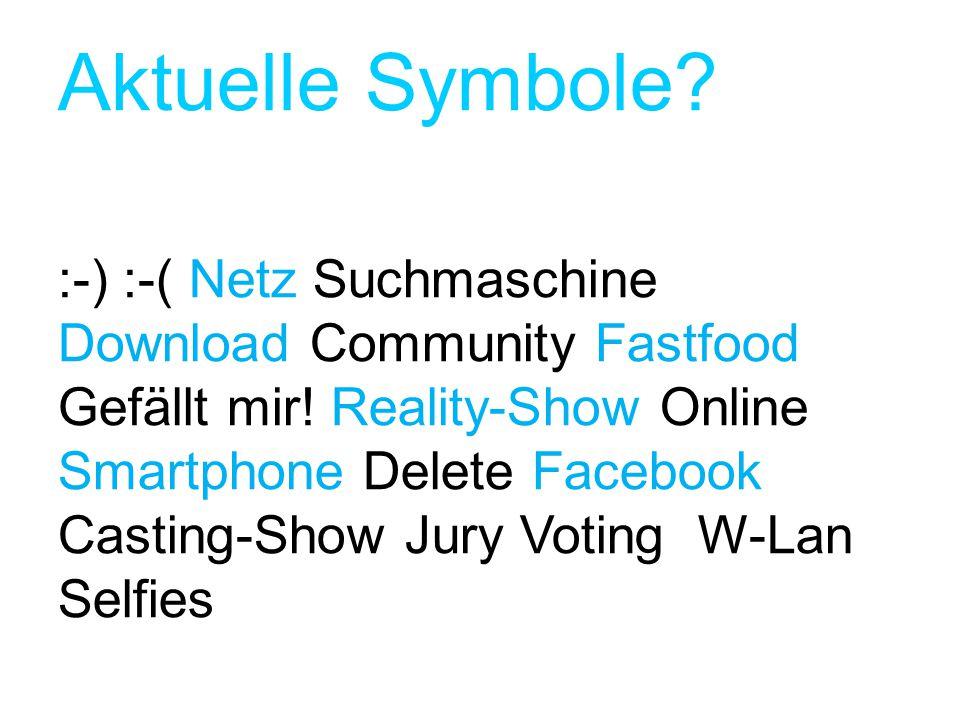 Aktuelle Symbole