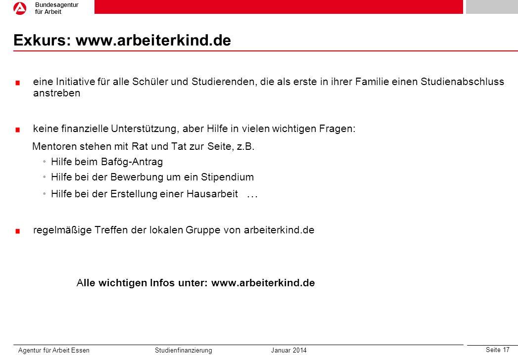 Exkurs: www.arbeiterkind.de