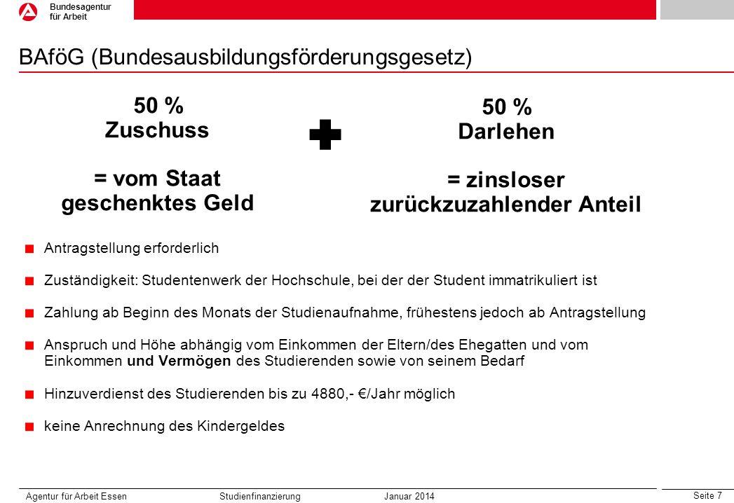 BAföG (Bundesausbildungsförderungsgesetz)
