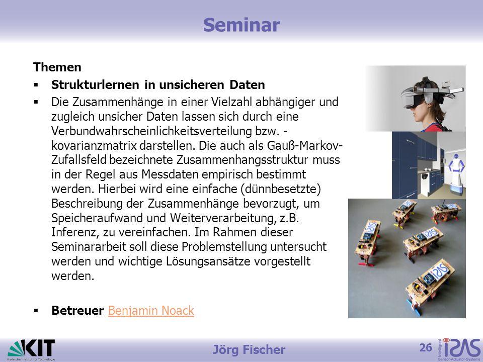 Seminar Themen Strukturlernen in unsicheren Daten