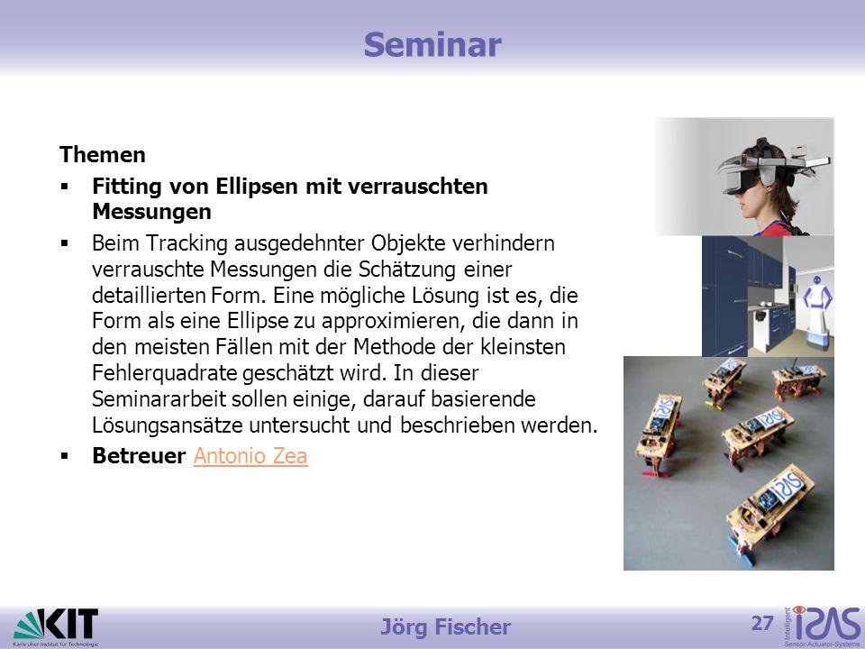 Seminar Themen Fitting von Ellipsen mit verrauschten Messungen