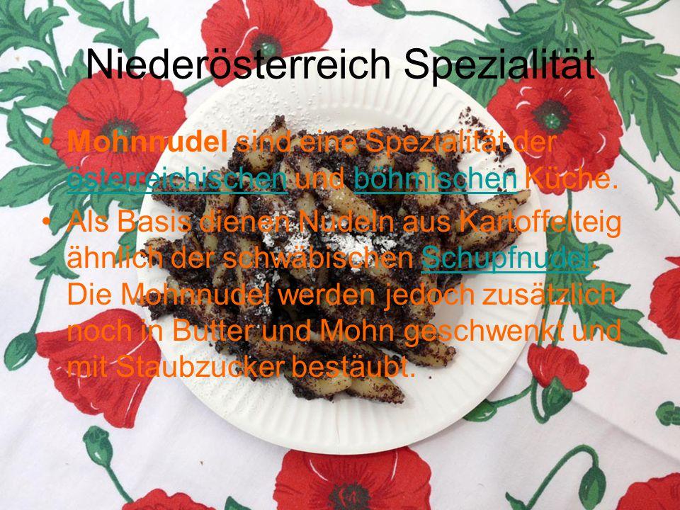Niederösterreich Spezialität