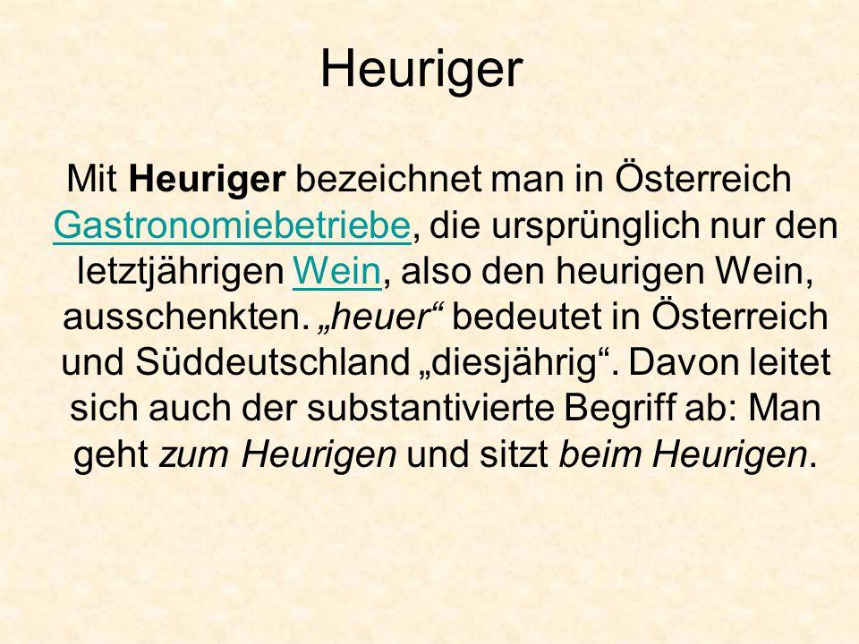 Heuriger