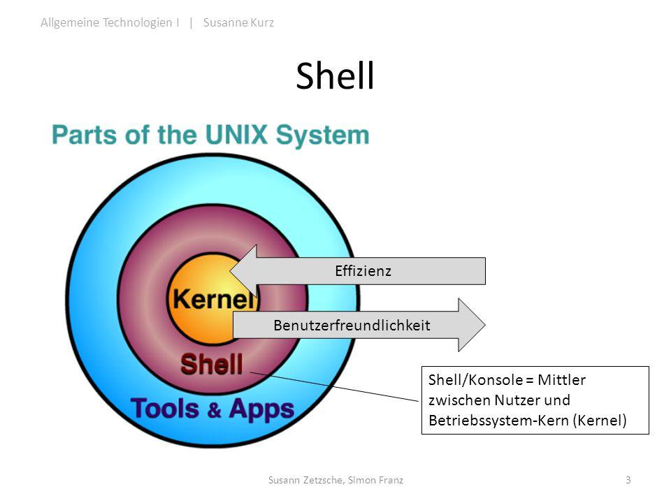 Shell Effizienz Benutzerfreundlichkeit