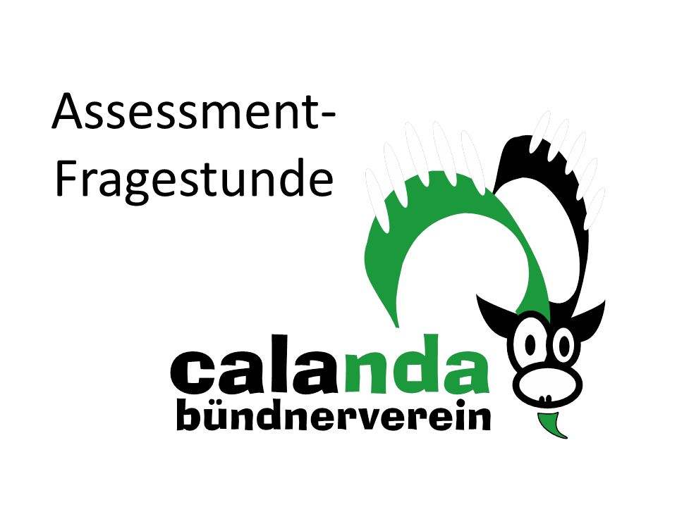 Assessment-Fragestunde