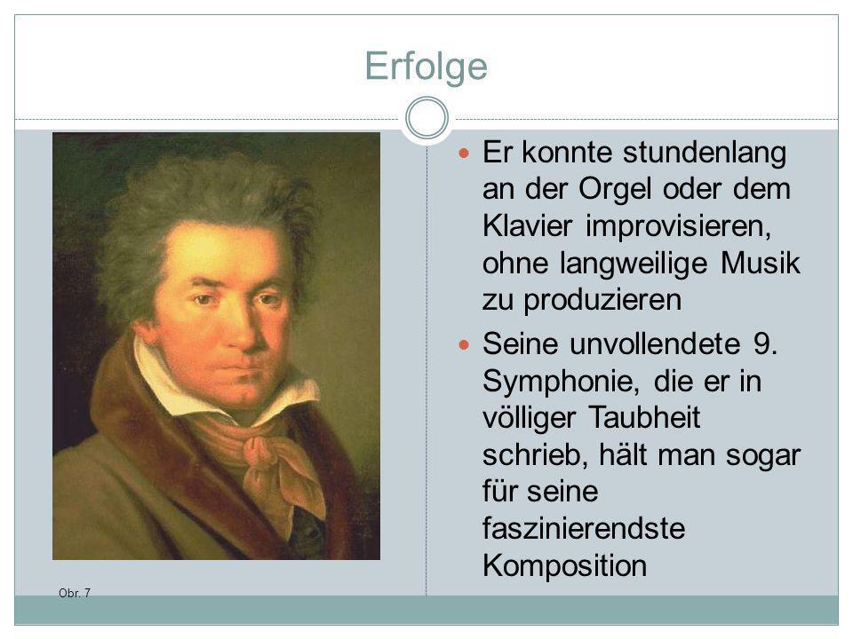Erfolge Er konnte stundenlang an der Orgel oder dem Klavier improvisieren, ohne langweilige Musik zu produzieren.