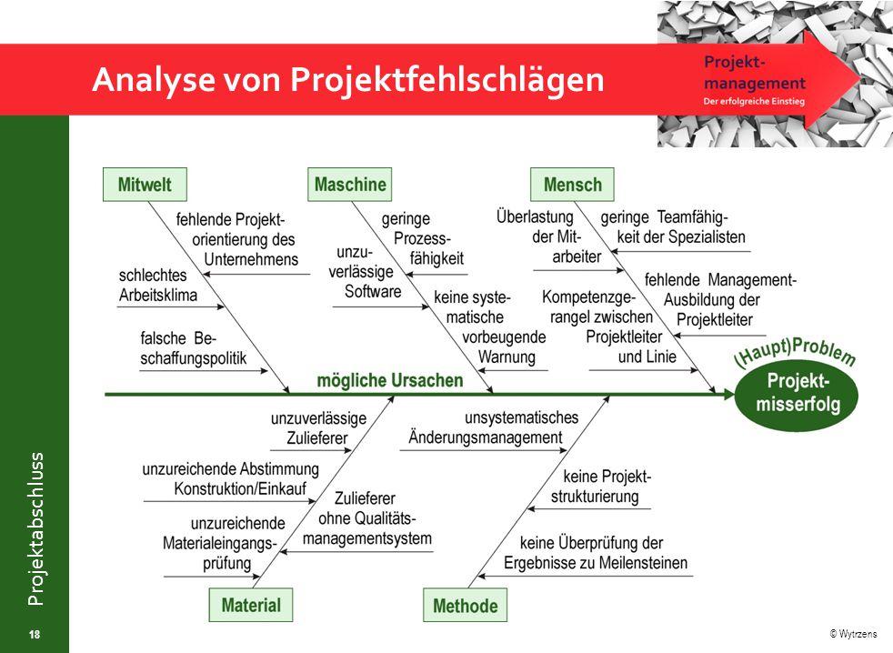 Analyse von Projektfehlschlägen