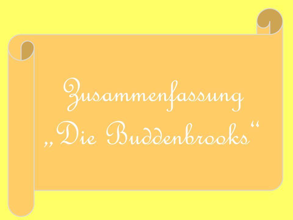 """Zusammenfassung """"Die Buddenbrooks"""