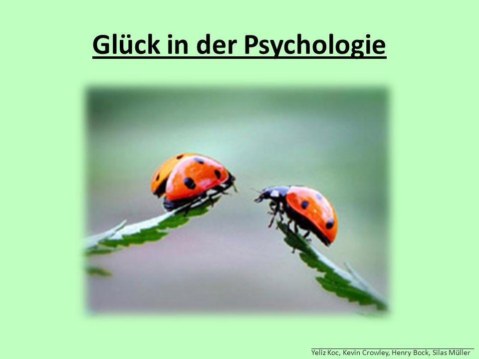 Glück in der Psychologie