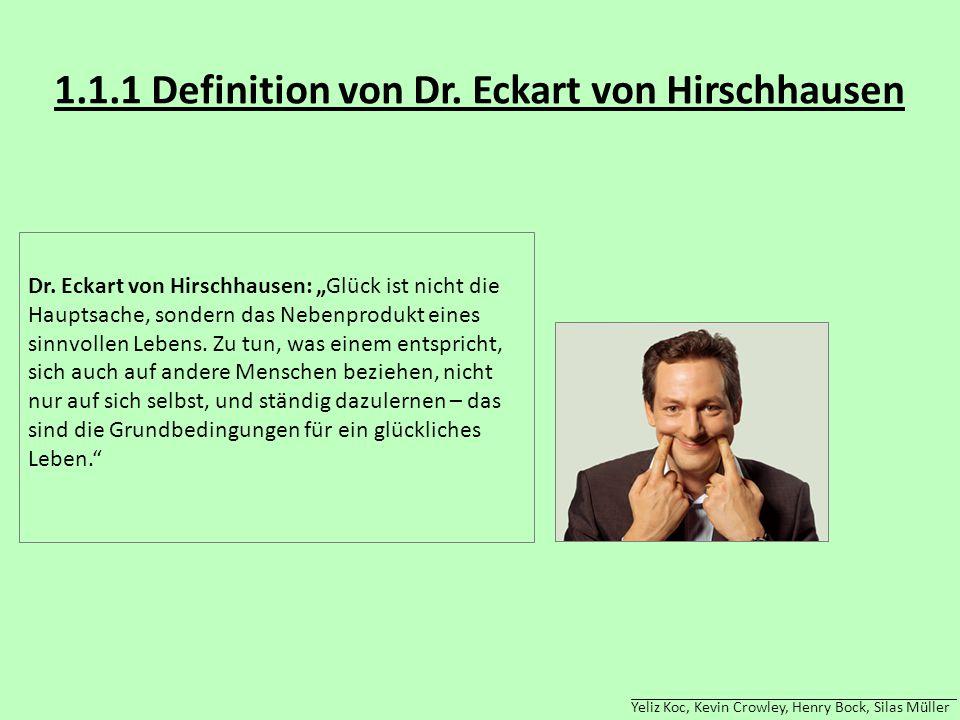 1.1.1 Definition von Dr. Eckart von Hirschhausen