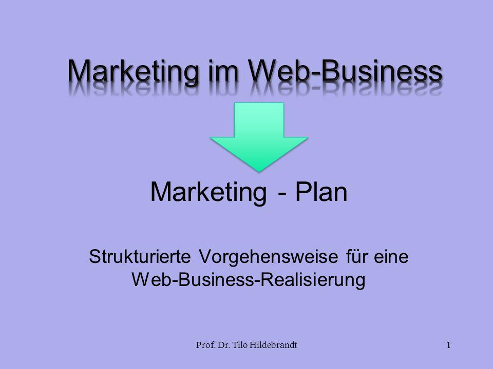 Strukturierte Vorgehensweise für eine Web-Business-Realisierung